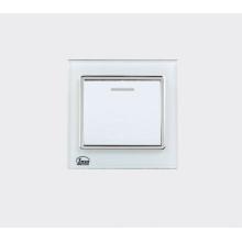 Interruptor da parede do grupo de 1 branco Interruptor da casa do toque 16A 1500W