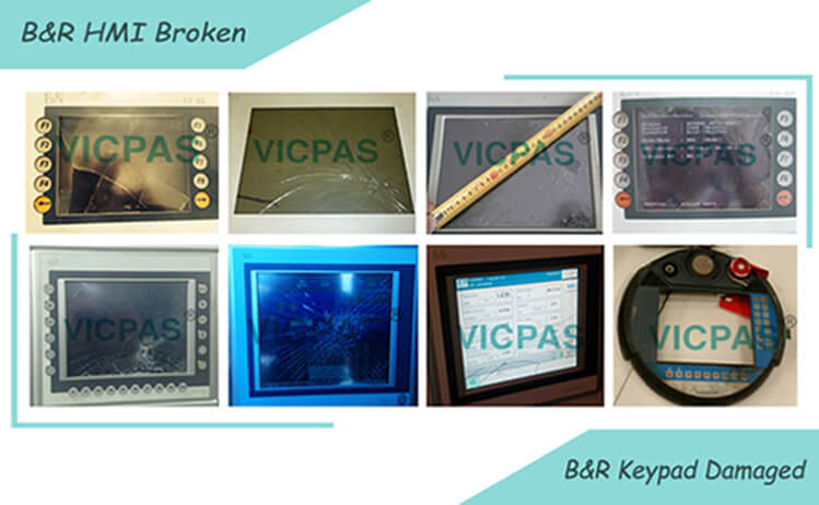 B&R Broken HMI Touch Screen