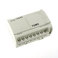 Yumo Af-20mt-Gd2 DC12-24V 12 puntos de entrada digital de CA 8 puntos Módulo de PLC de salida de relé sin LCD