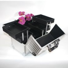Hot selling jewelry box in aluminum frame