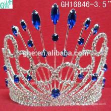 Purple stone beauty crown