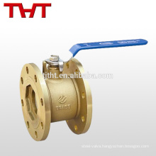 forged flanged brass ball valve 1/2 manufacture 90 degree angle valve
