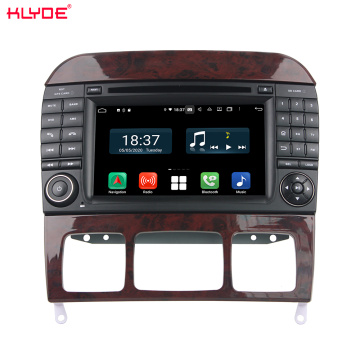 PX6 android car dvd gps για S-Class W220