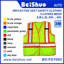 3-Layer Mesh Reflective Running Vest