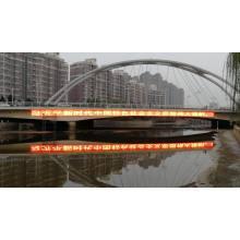 Transparenter Pixel-LED-Netzbildschirm für Medienfassade