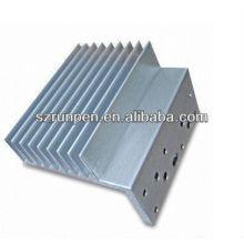 Extrusion en poudre Extrusion Radiateur en aluminium