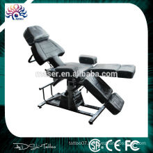 High Quality Foldable Tattoo Chair, Professional Soft Salon Tattoo Chair, Whosale Permanent Makeup Tattoo Chair for Supply
