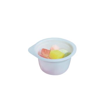 Одноразовый прозрачный пластиковый контейнер для соуса для варенья