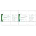 Luvas de borracha descartáveis para uso médico
