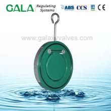 Válvula de retención de puerta simple de tipo oblea