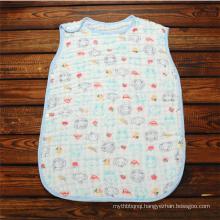 Super soft baby swaddle muslin baby sleeping bag
