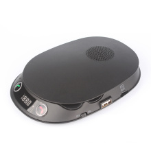 Transmissor de viva-voz FM Bluetooth Speakerphone para carro