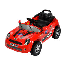 Red Kids Electric Toy Radio Control Ride en coche con bateador