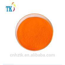Fluoreszenzfarbstoffe Lösungsmittel grün 5, Probe mit fluoreszierendem Gelb 8G