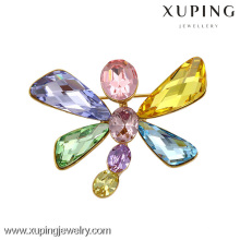 x0421005-xuping wholesale fashion jewelry Crystals from Swarovski, dragonfly brooch