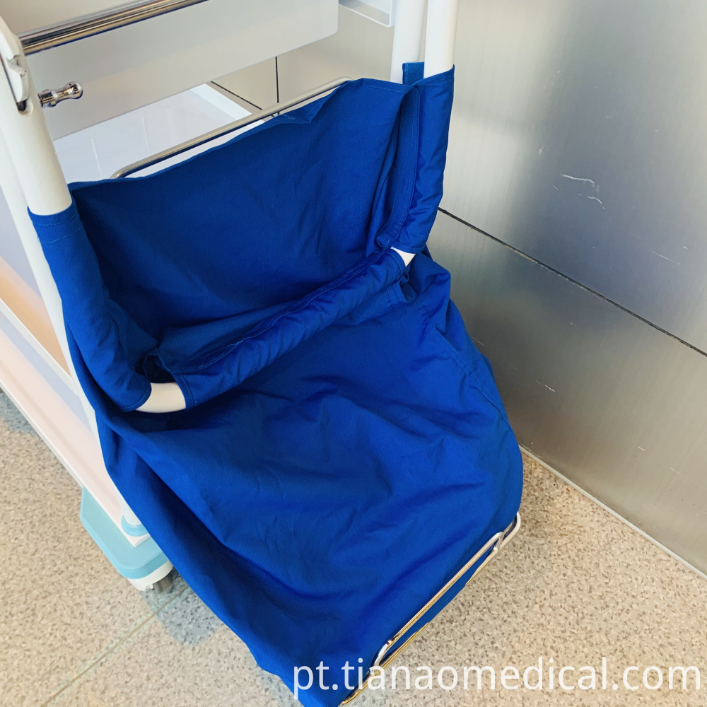 Medical Steel Linen Trolley Cart