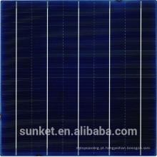 Bolacha de silício barata para célula solar 6x6 e célula solar policristalina