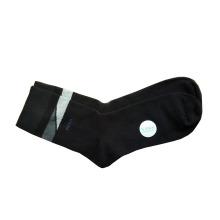 Los hombres visten los calcetines lisos Withtencel y el poliéster (MTP-04)