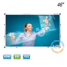 Ecrã táctil de quadro aberto Monitor LCD de 46 polegadas com entrada HDMI