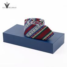 Polyester Krawatten Box Geschenk Set Krawatte Set mit Box