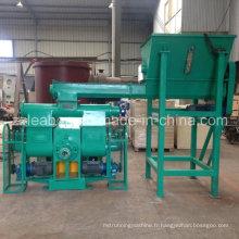 Machine de briqueterie à la scie à la fourrure à la biomasse