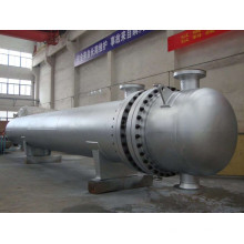 Échangeur de chaleur à tube et coque en acier inoxydable 316