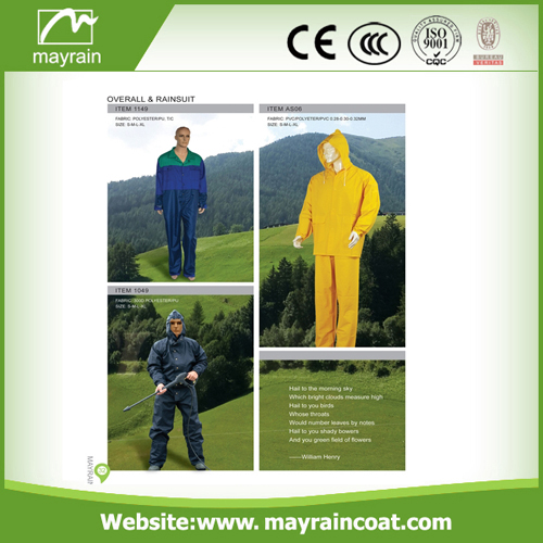 Waterproof Hooded Rain Suit