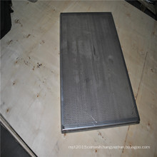Food grade stainless steel perforated baking egg tray