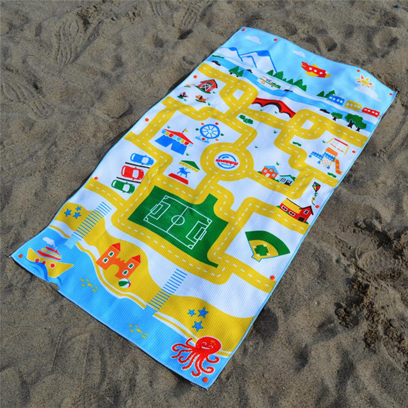 Cotton Round Children Beach Towels