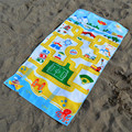 Anti sand cotton children beach towels
