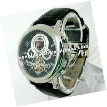 Mode automatische Uhr, Männer Edelstahl Uhren 15039