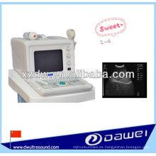 Escáner Ultrasound portátil de tipo B portátil para la venta