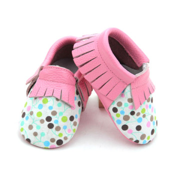 Borong Soft Real Leather Baby Moccasins Shoes