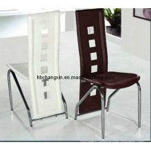 Leather Dining Chair Hot Selling and Durable Steel Frame for Dining and Living Room Furniture
