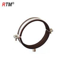 B17 m8 + 10 tipo de soldagem braçadeira de tubulação braçadeira de tubulação de suspensão profissional
