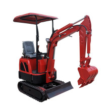 Chinese Digger For Garden 800kg 1.5 Farm 1 Ton Mini-graafmachine
