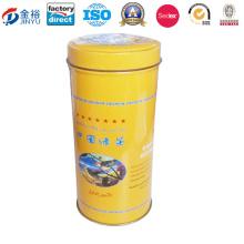 Round Tea Plant Can Tea Tin-Jy-Wd-2015112105