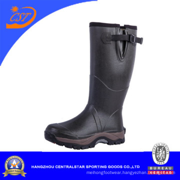 Good Quality Rubber Boots Rain Boots Boots Two Color Sole (66608N)