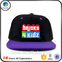 Chapéus de abas planas / chapéus personalizados / chapéus lisos atacado