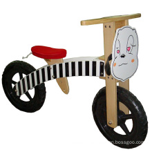 Venta al por mayor dos ruedas bicicleta de pie de madera para niño