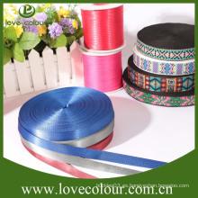 Cinta azul brillante de la tela resistente de la venta directa de la fábrica
