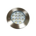 Lámpara de pie LED para exteriores de acero inoxidable IP67