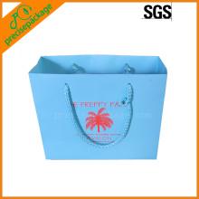 customized printing 200gsm art paper bag