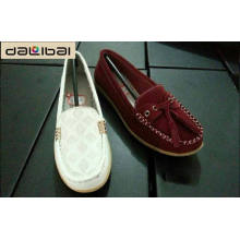 Best selling china shoe factory wholesale mens leather suede loafers shoes