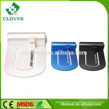 ABS material with clip 1 led mini book reading light for promotion