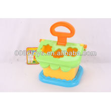 house puzzle (shape sorter for children to learn)