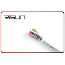 Cable de teléfono del cable Cat3 de la chaqueta de LSZH / PVC