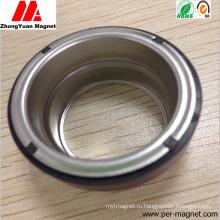 PA12 Инжекционный пластиковый ферритовый магнит с узлом вала