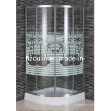 Salle de douche simple avec ligne (E-03CT)