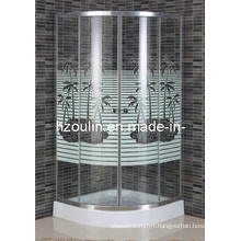 Simple Shower Room with Line (E-03CT)